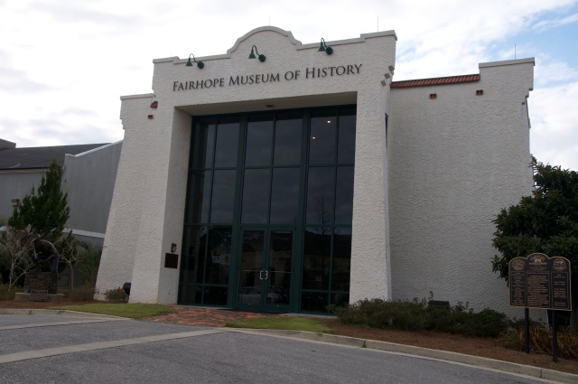 The museum contains many permanent exhibits and also has an area for traveling exhibits.