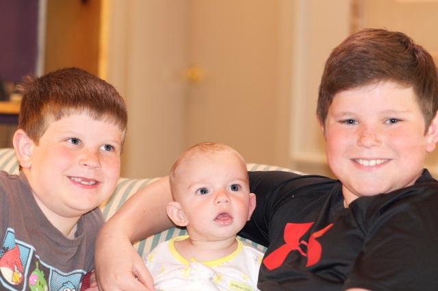 Drew, Jari, and Will