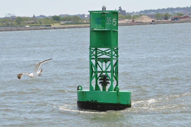 My favorite wind chime: a bell buoy