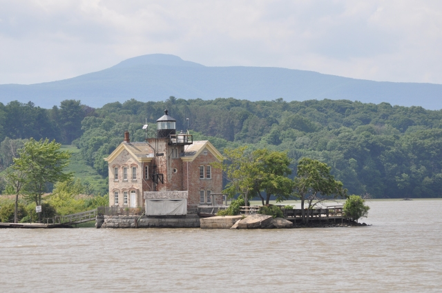 The lighthouse at Saugerties was built in 1869 and is currently a very exclusive and romantic bed and breakfast.