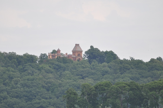 Olana from the Hudson River