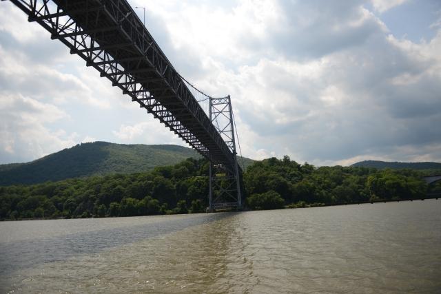 Bear Mountain Bridge is the Hudson River crossing for the Appalachian Trail.