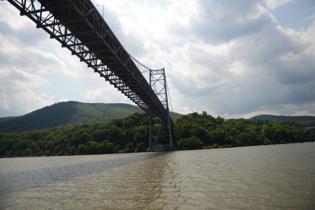 Bear Mountain Bridge is the Hudson River crossing for the Appalachian Trail.