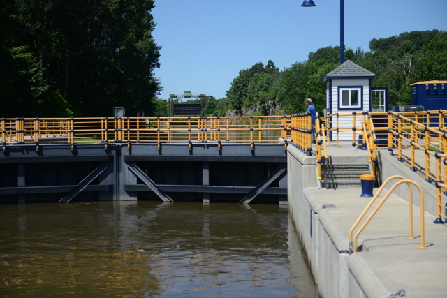 The Erie Canal is now maintained by the State of New York.  We applaud their efforts and the beauty of the waterway.