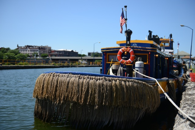 Currently the tugboat Urger is a floating museum, traveling the New York canals educating school children and adults, attending canal festivals, and interpreting the profound history of this wonderful waterway.