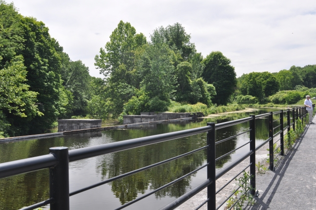 Restored aqueduct at Camillus, NY, part of the  Erie Canal when enlarged in 1835