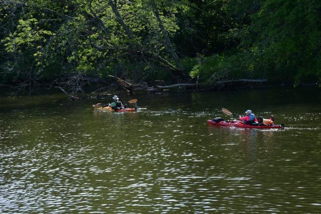 The rivers provide stellar kayaking adventures.