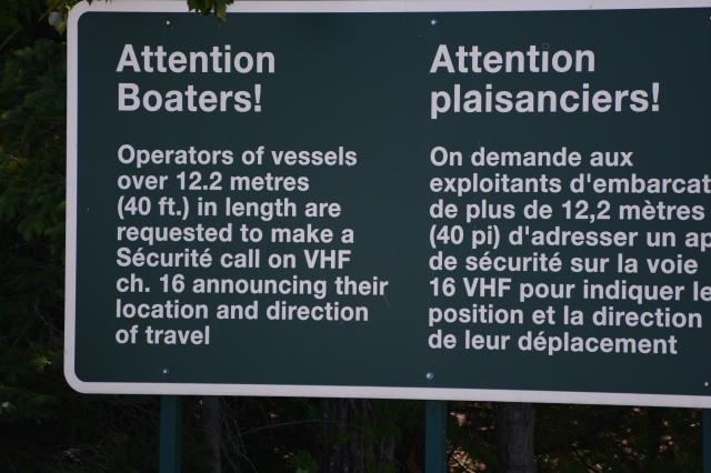 There were several of these notices to mariners.