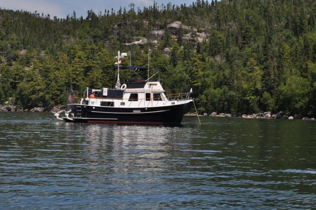 Arkansas Traveler at Simons Harbour on the eastern shore of Lake Superior