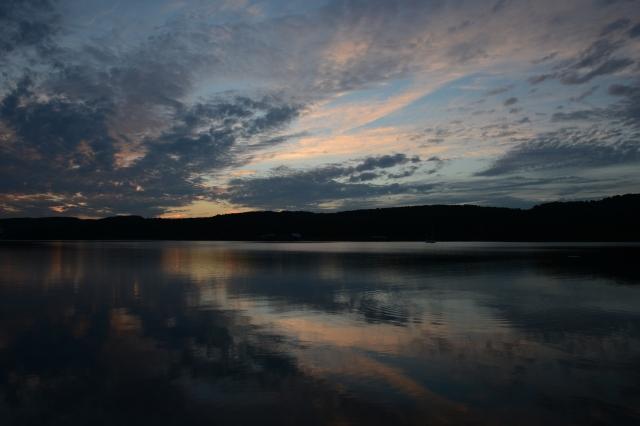 Sunset at Michipicoten Island