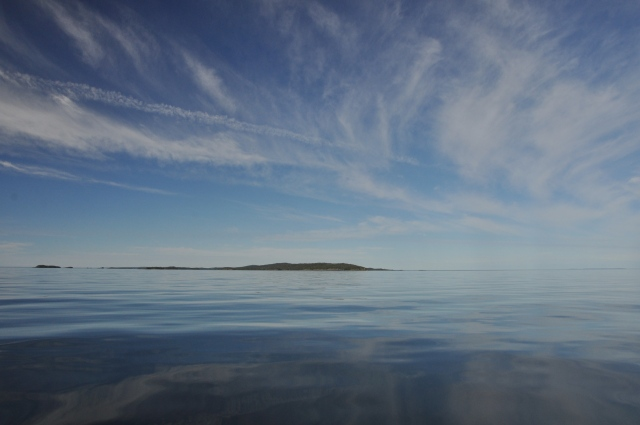 We were not quite ready to leave Isle Royale, but the day was perfect for a passage.
