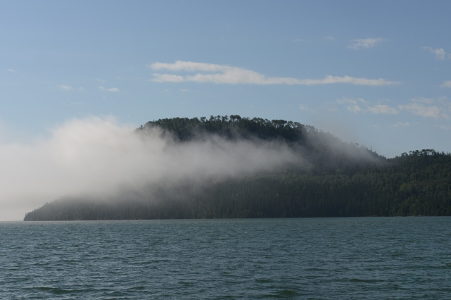 Fog in Nipigon Bay