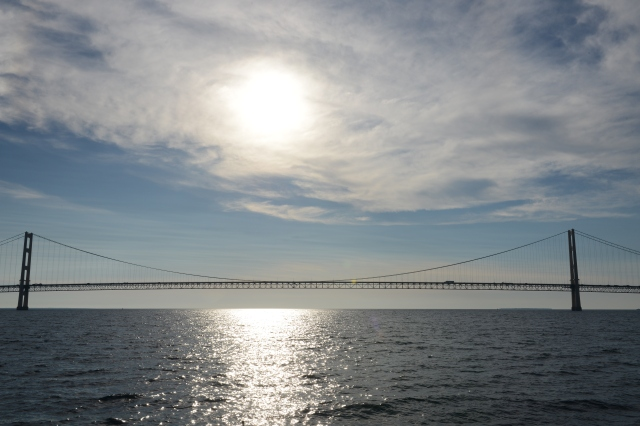 Mackinac Bridge - the gateway to Lake Michigan